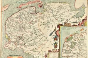 70/6009   [Friesland]. Frisia Occidentalis. Sibrandus Leonis Leovardiensis