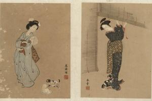 70/4702   Kodai bijin e syu (Pictures of a variety of beautiful women in e