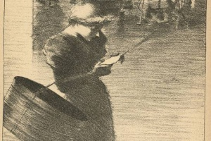 70/1552   [Steinlen, T.A.]. Bergerettes. Romances et Chansons du XVIIIe Si