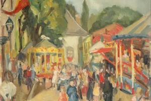 70/3387   Borght, R. van der (1907-2005).