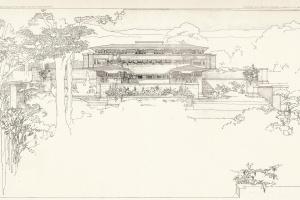 71/99   [Architecture]. Wright, F.L.