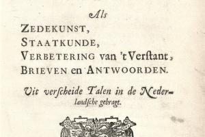 71/3419   Spinoza, B. de.