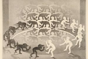 72/3928   Escher, M.C. (1898-1972).