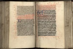 73/2160   [Medieval manuscripts]. Hier beghinnet die souter van onser liev