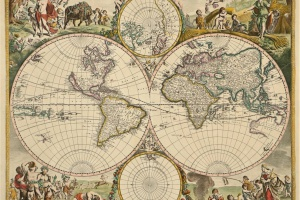 73/5757   [Worldmaps]. Nova Orbis Tabula.
