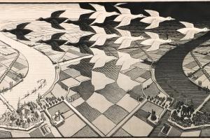 74/3649   Escher, M.C. (1898-1972).