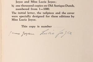 74/1392   Joyce, J.