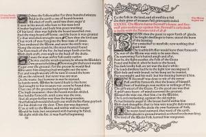74/1396   [Kelmscott Press]. The Tale of Beowulf. English transl. by W. Mo