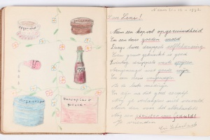 74/2337   [World War II. Frank, A.]. Poezie album of LENI DUYZEND, classma