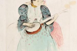 75/3583   Cassatt, M. (1844-1926).